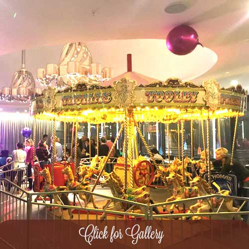 Childrens Carousel hire